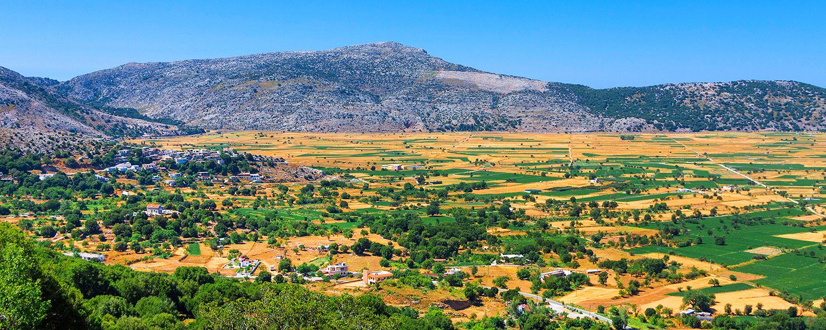Les plaines fertiles, Les paysages, Crète
