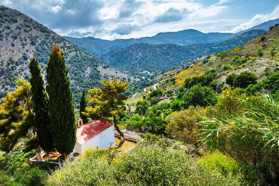 La vite a Creta, Le pianure fertili, I paesaggi, Creta