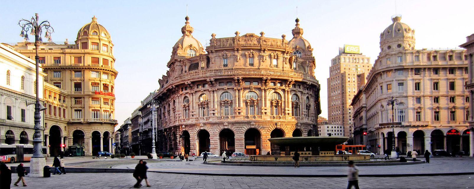 Le centre historique de g nes ligurie italie for Hotels genes
