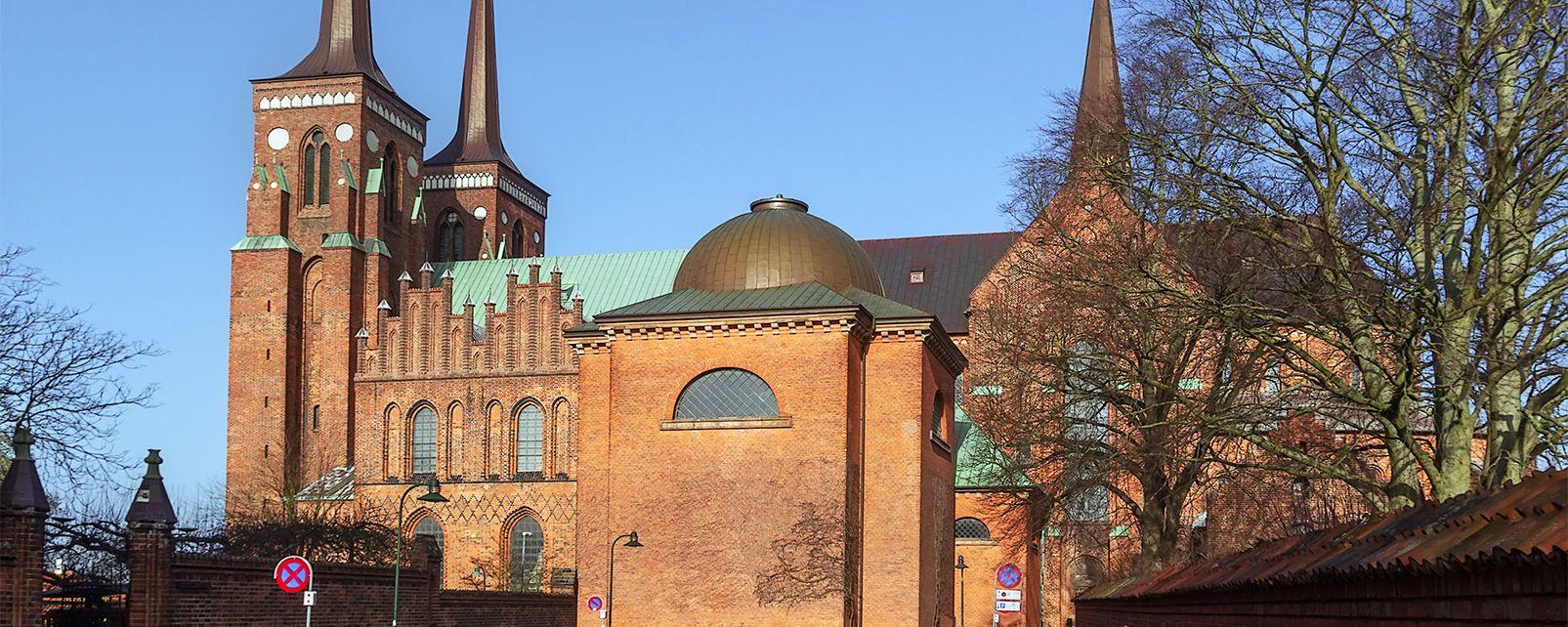 La cathédrale de Roskilde , Danemark