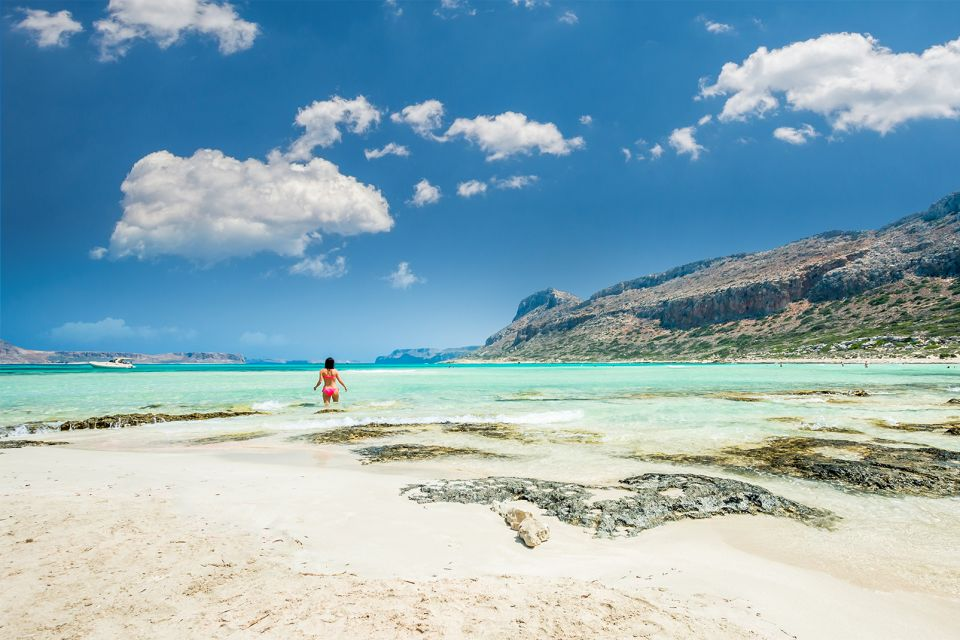 La Crète balnéaire, La côte Nord, Les côtes, Crète