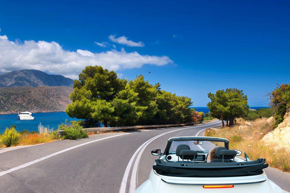 La Crète en voiture, La côte Nord, Les côtes, Crète