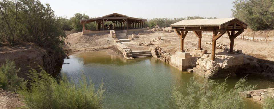 Les monuments, Béthanie, Wadi Kharrar, beth avarah, jourdain, Israël, Jordanie, moyen-orient, église, rivière, saint-Jean baptiste