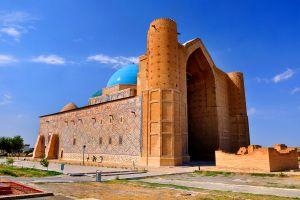 Le mausolée de Khoja Ahmed Yasavi , Kazakhstan