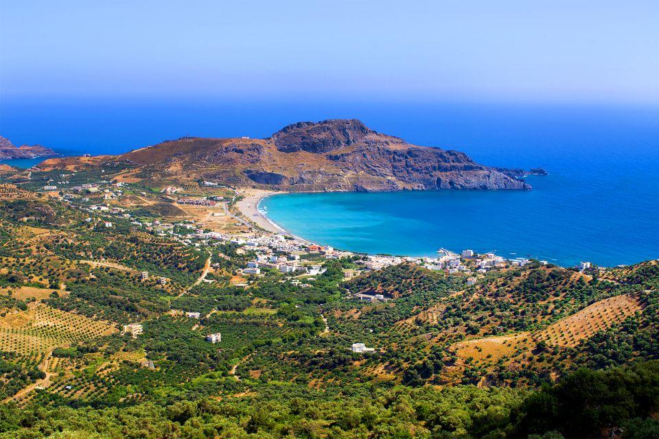 La côte Sud, Les côtes, Crète