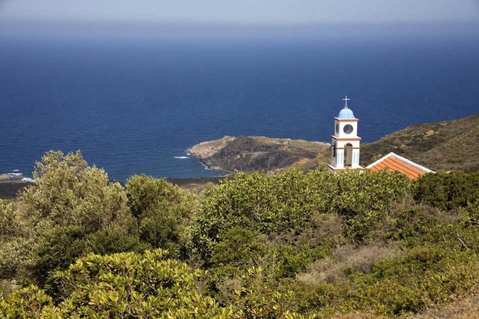 La côte Sud , Les côtes sauvages du sud de la Crète , Grèce