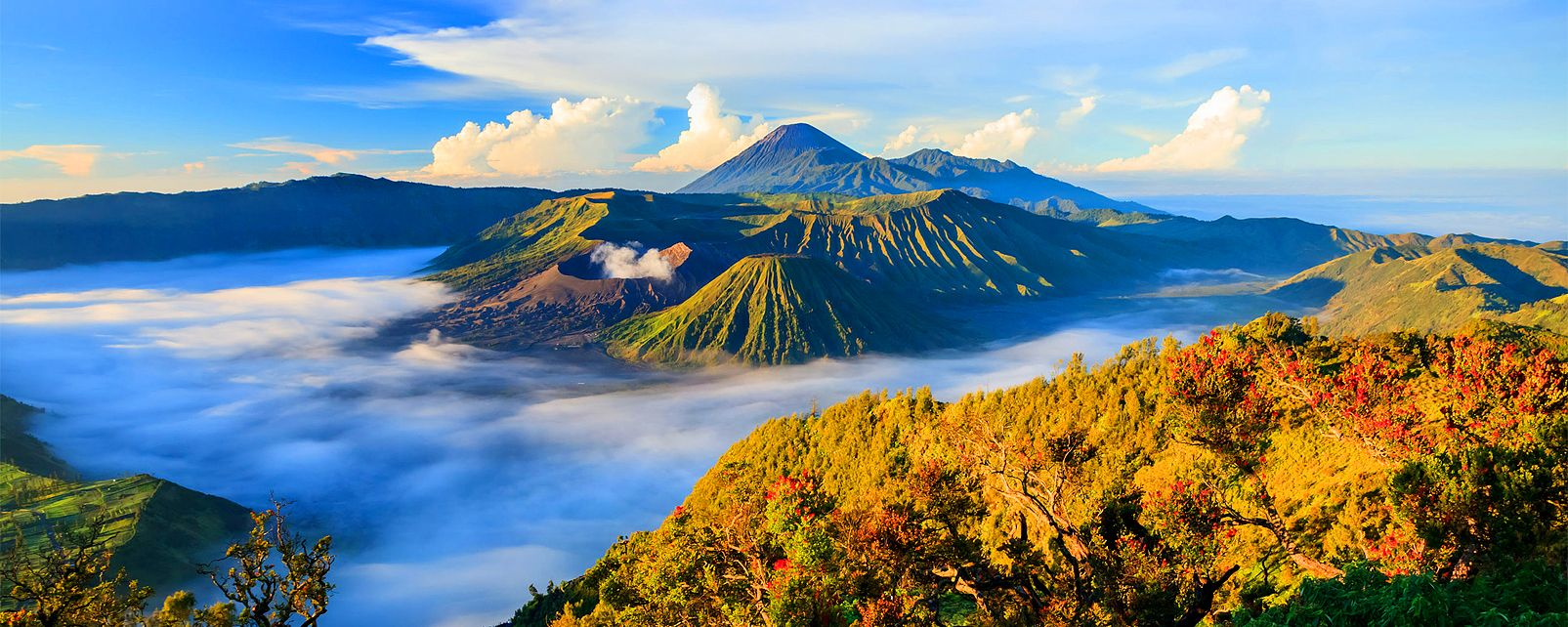 Le volcan Bromo , Indonésie