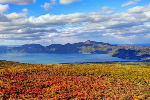 L'île d'Hokkaido , Japon