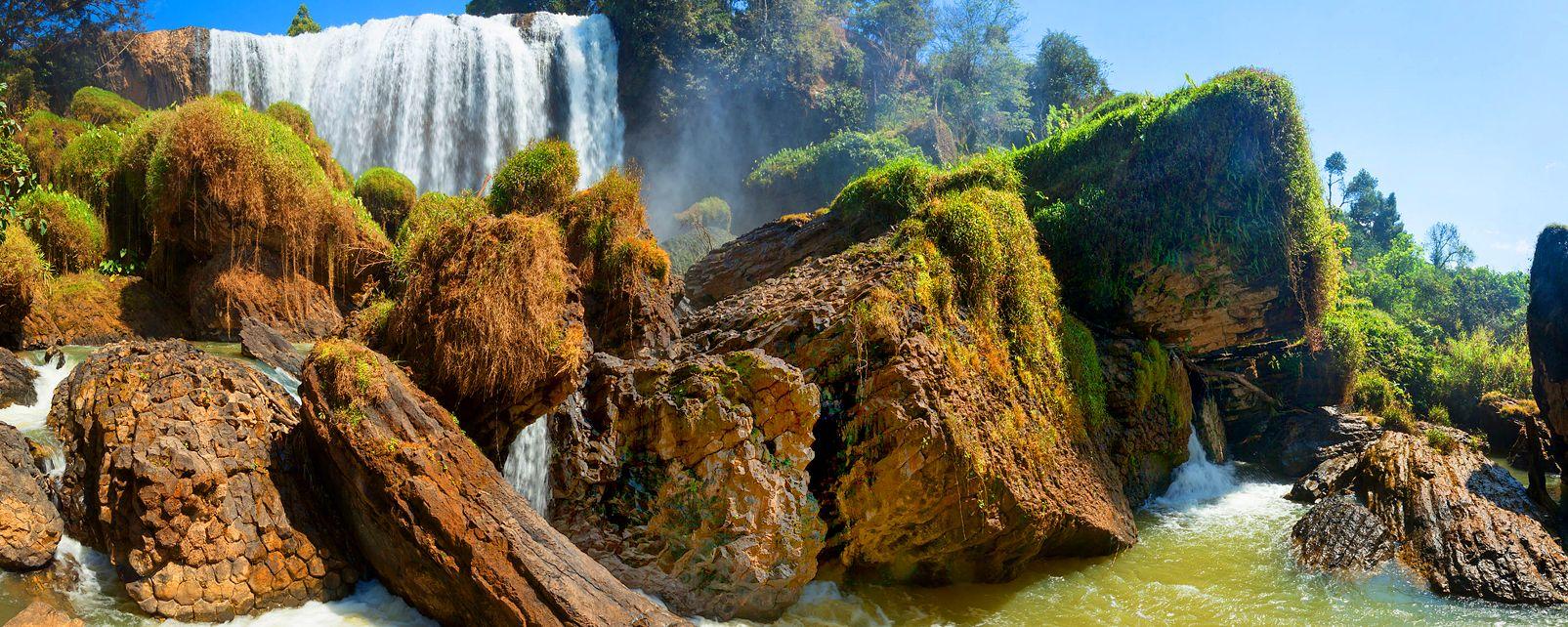 Les chutes de Dalat , Vietnam