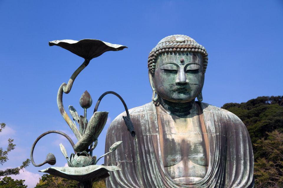 Le Grand Bouddha de Kamakura , L'une des plus célèbres icônes du Japon , Japon
