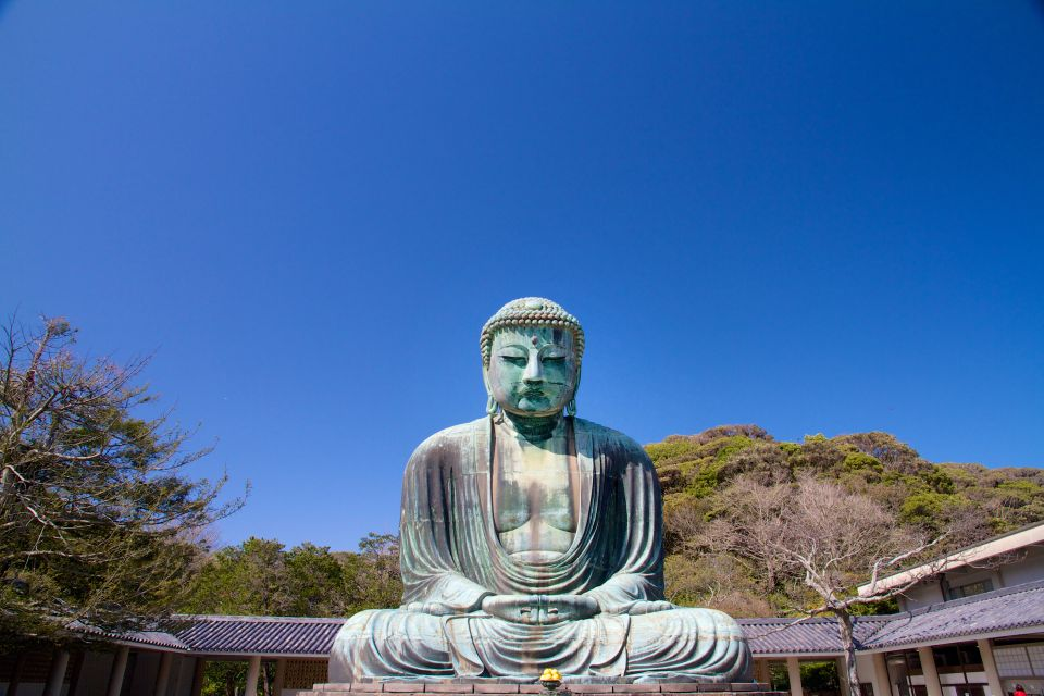 Le Grand Bouddha de Kamakura , Japon