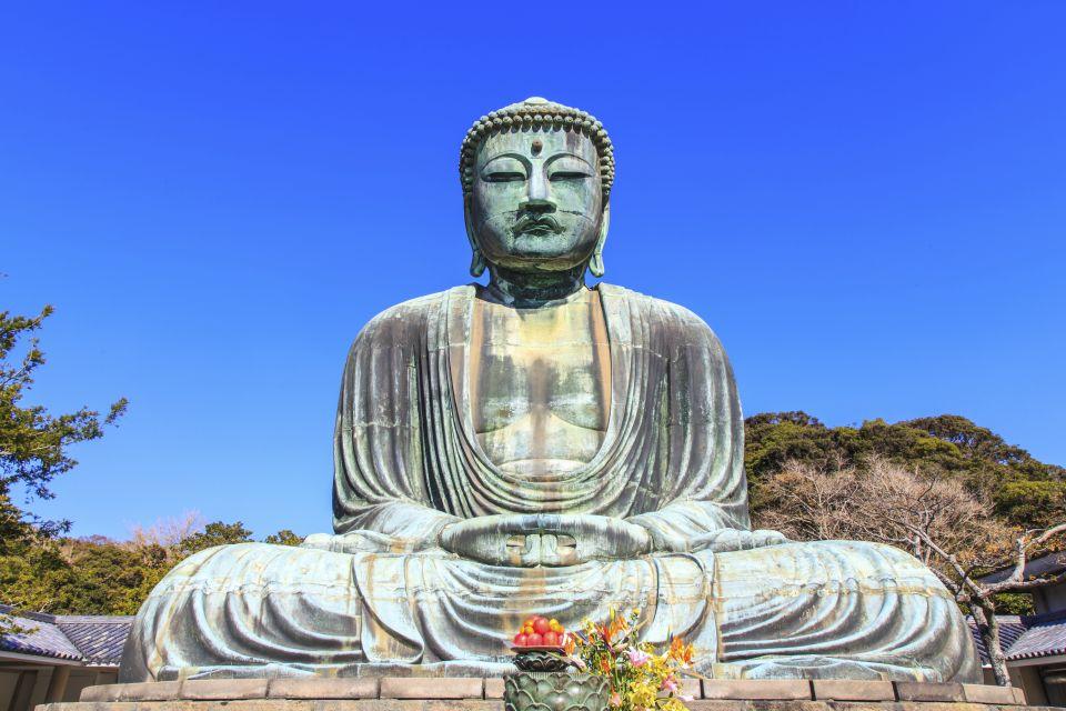 Le Grand Bouddha de Kamakura , Bouddha assis , Japon