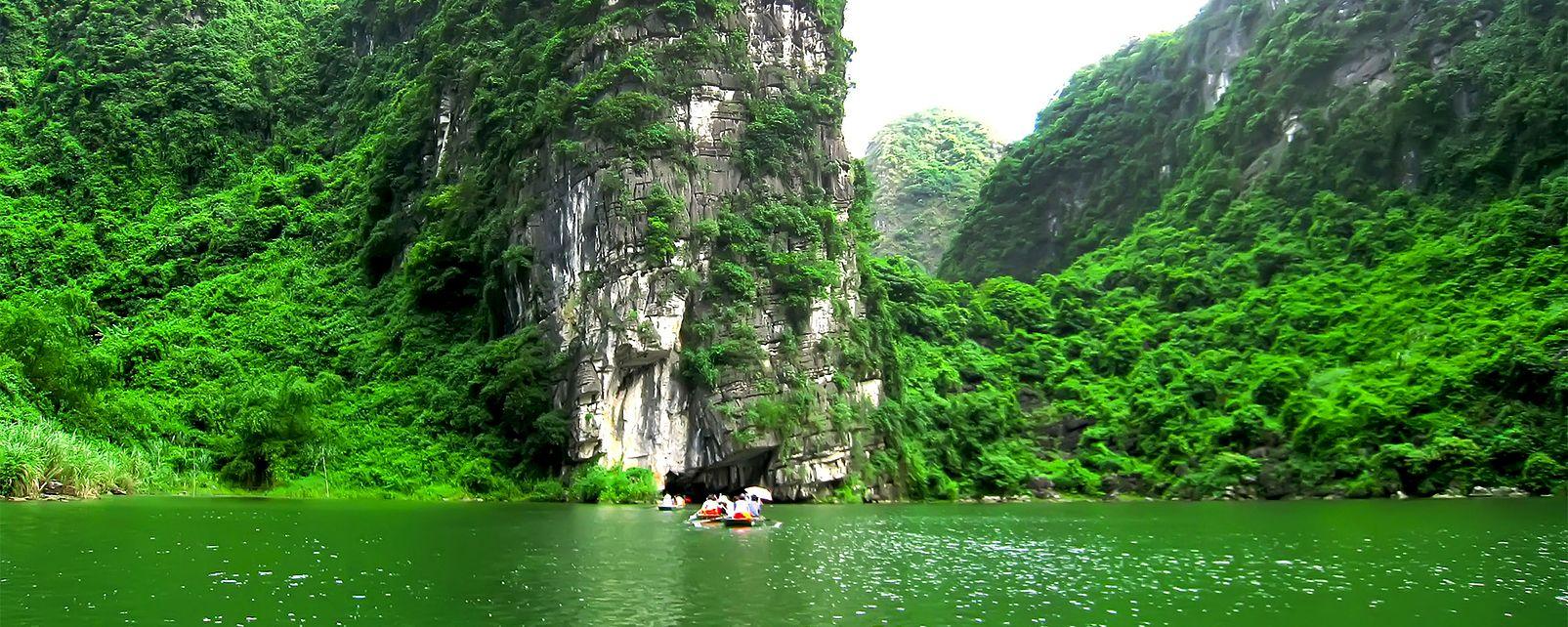 Le complexe paysager de Trang An , Vietnam