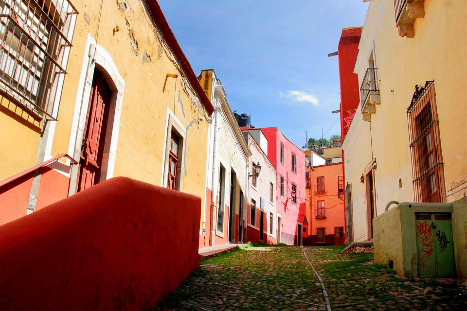 le centre historique de Guanajuato , Mexique