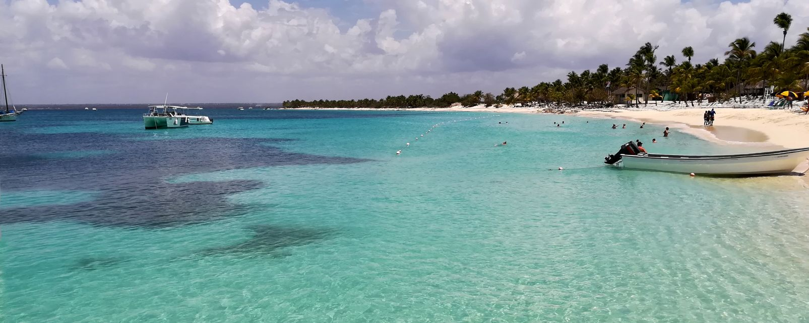 Les îles et les plages, Rep dom