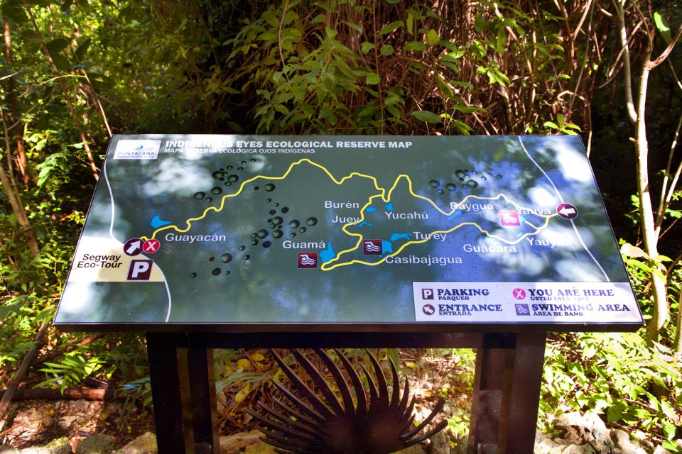 Les activités et les loisirs, Réserve écologique Ojos Indinegas Punta Cana République Dominicaine Caraïbes