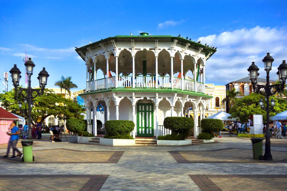 Les monuments et les balades, Vieille ville Puerto Plata République Dominicaine Caraïbes kiosque