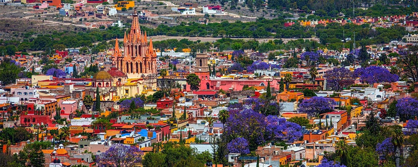 Le centre baroque de san miguel de allende mexique continental mexique - Location de vacances san miguel mexique ...
