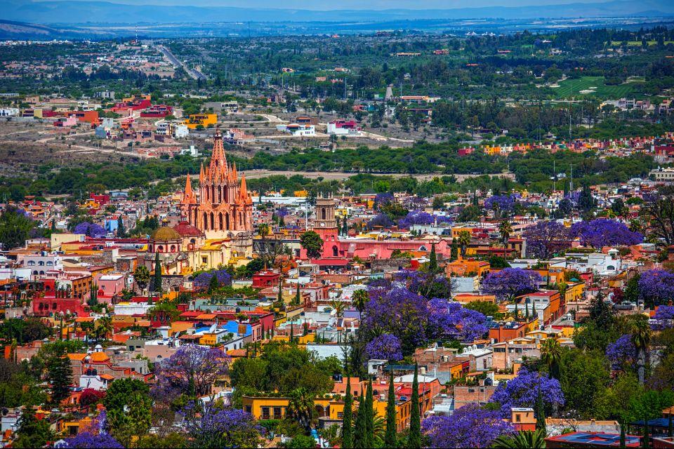 San Miguel de Allende, Mexique, Amérique, église, baroque, centre