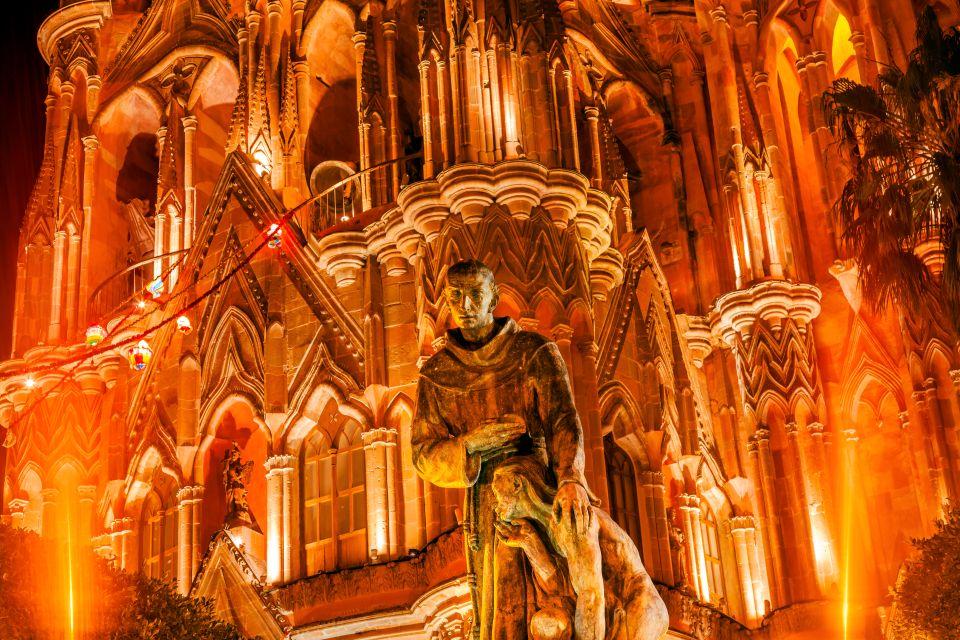 San Miguel de Allende, Mexique, Amérique, église, baroque, religion, statue,