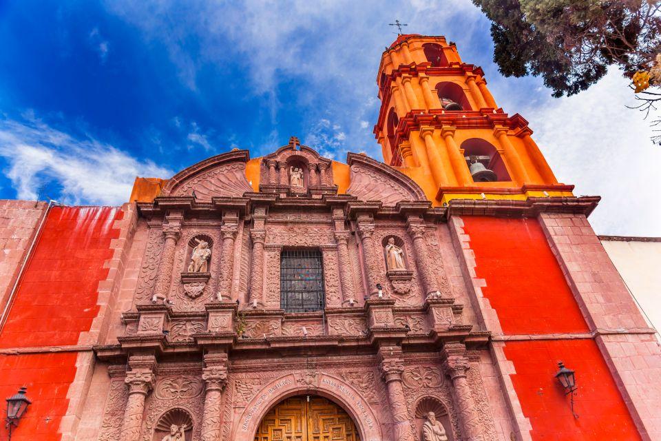 San Miguel de Allende, Mexique, Amérique, église, baroque, statues, religion,