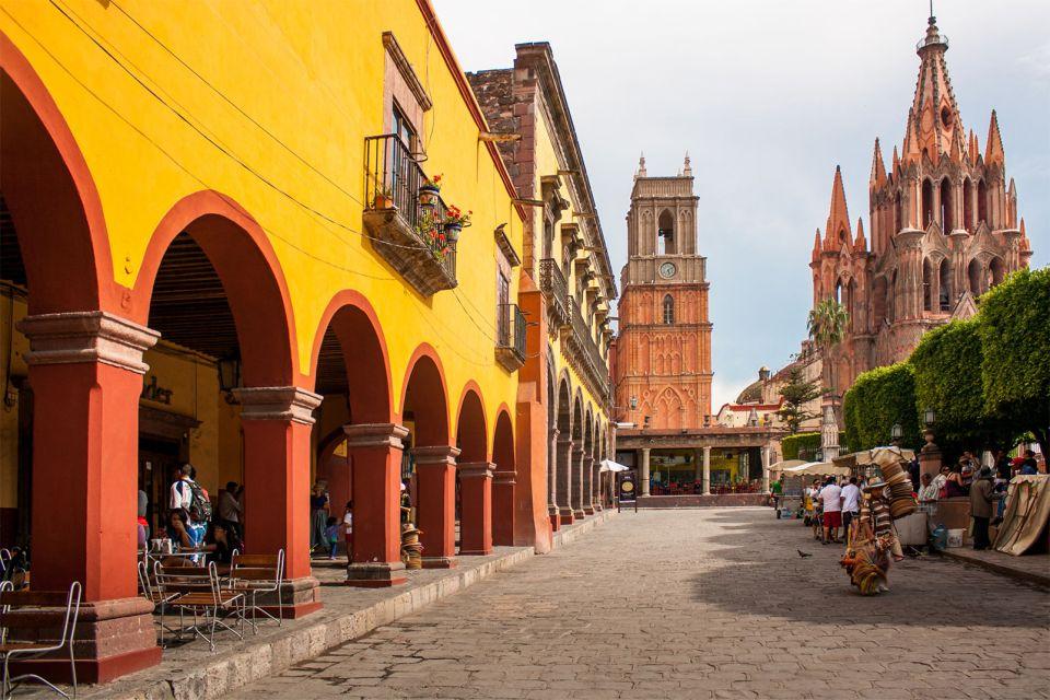 San Miguel de Allende, Mexique, Amérique, centre, baroque, centre-ville, église