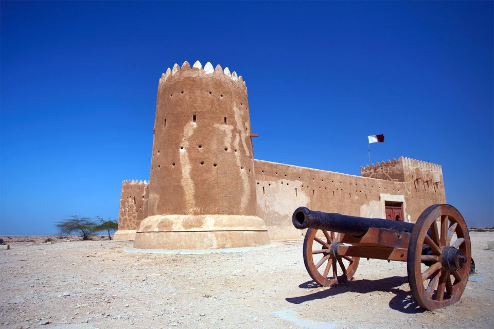 zubarah, site al zubarah, qatar, moyen-orient, ruine, vestige, fort, Al Zurabah