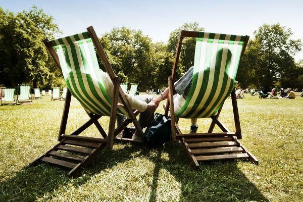 Les parcs naturels et jardins, Royaume-Uni Angleterre Londres jardin Kensington Hyde park parc repos