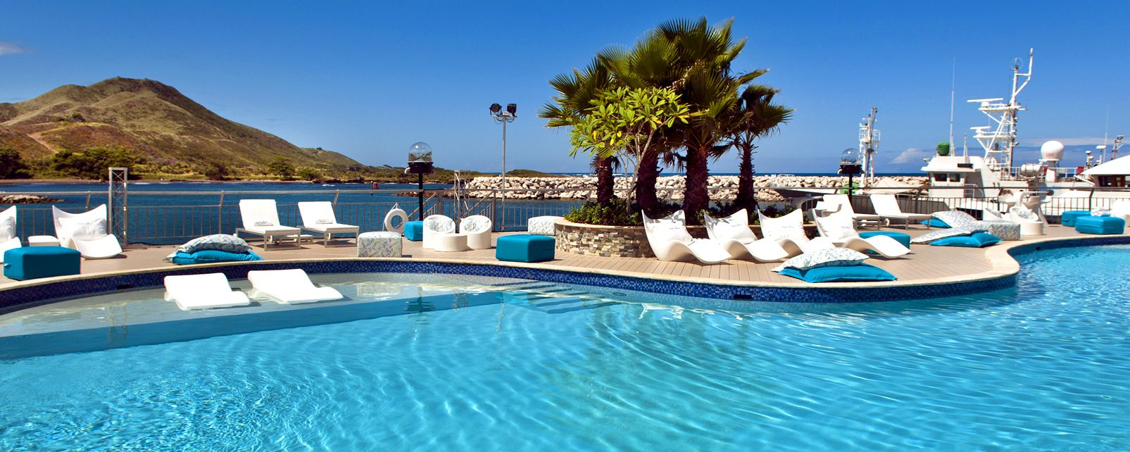 Les activités et les loisirs, Café del Mar Cofresi République Dominicaine Caraïbes piscine mer