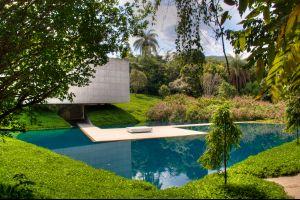 Le plus grand musée du monde à ciel ouvert à Inhotim , Brésil