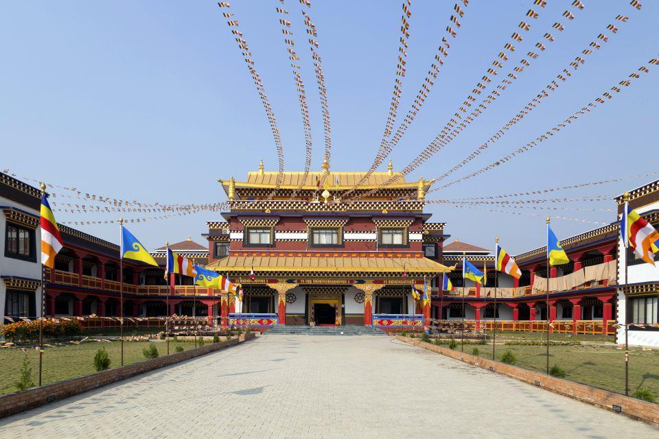 Les arts et la culture, Népal Lumbini Rummindei site sacré bouddha bouddhisme Rupandehi temple