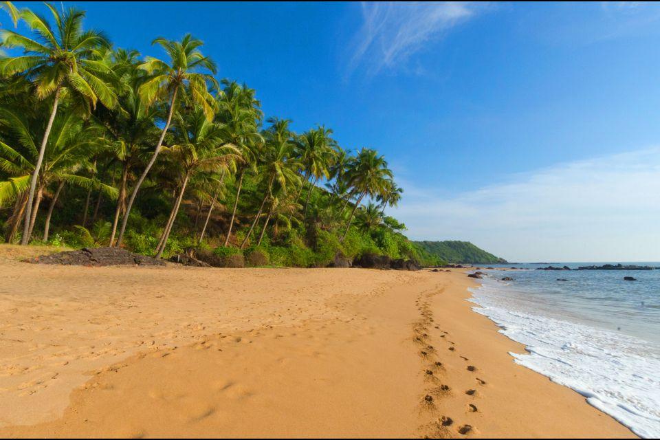 Les paysages, Inde asie goa plage