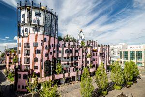 Les arts et la culture, Hundertwasser Magdebourg Europe allemagne citadelle verte