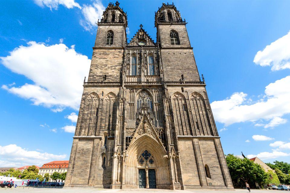 Les monuments, Cathédrale gothique Magdebourg Saxe-Anhalt Allemagne Europe