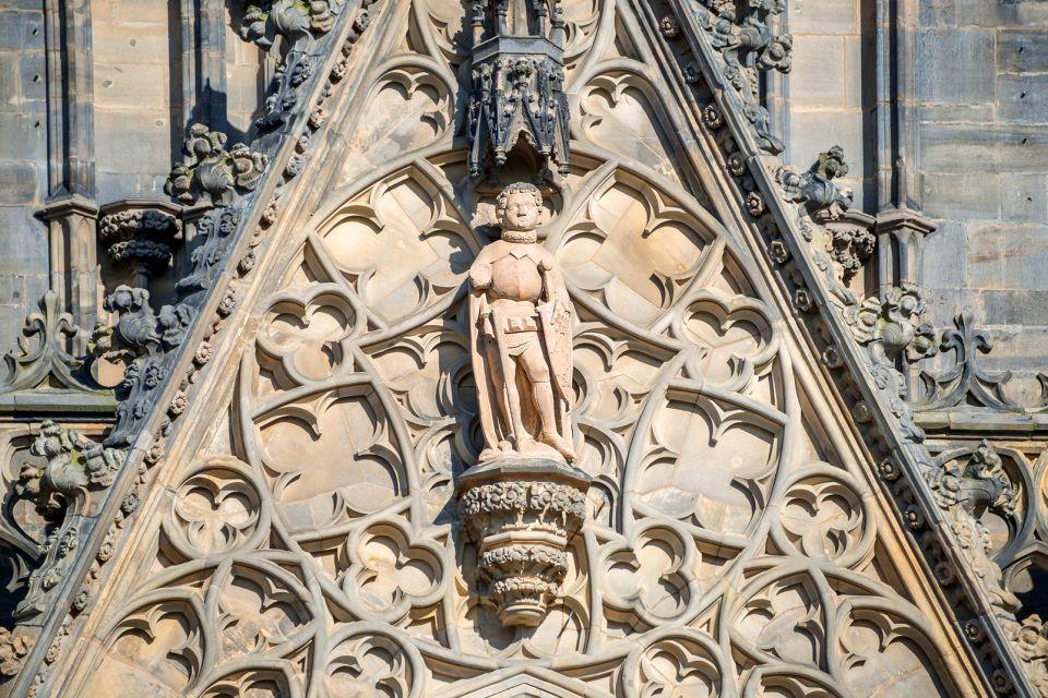 Les monuments, Cathédrale gothique Magdebourg Saxe-Anhalt Allemagne Europe Statue