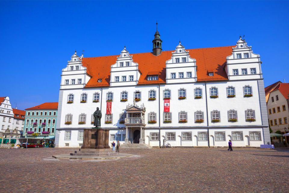 Les arts et la culture, Wittenberg Allemagne Saxe-Anhalt Europe Luther Lutherstadt Mairie ville