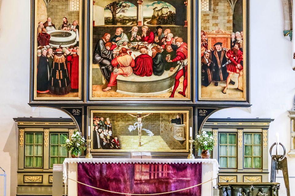 Les arts et la culture, Wittenberg Allemagne Saxe-Anhalt Europe Luther église tableaux peinture