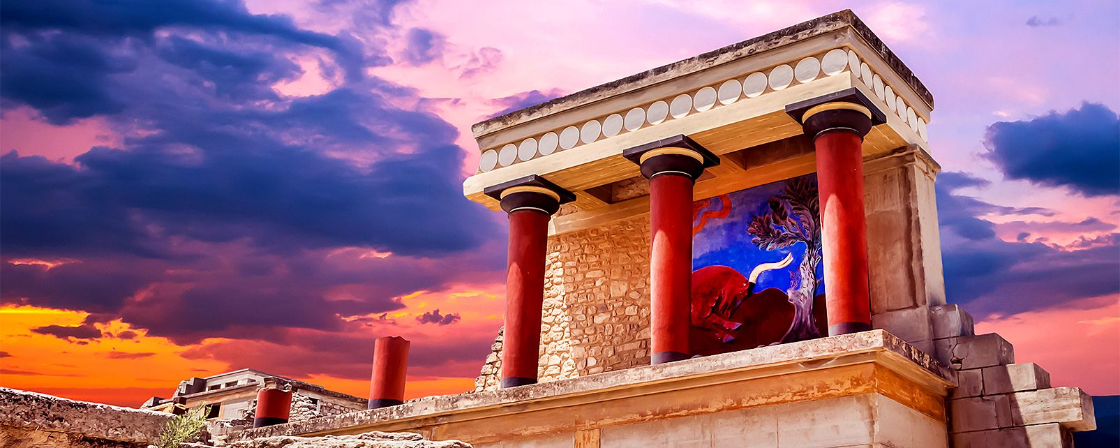 The Palace of Knossos, Elefterna, Monuments, Crete