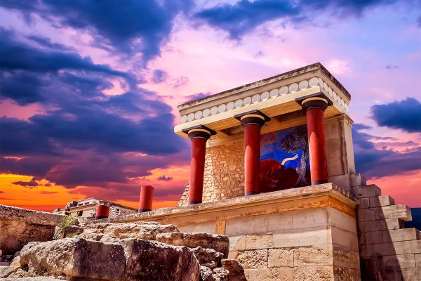 Elefterna , The Palace of Knossos , Greece