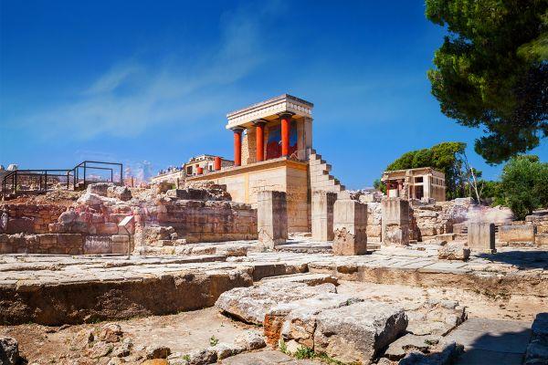 Knossos, Elefterna, Monuments, Crete