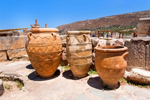 The vestiges of Knossos, Elefterna, Monuments, Crete