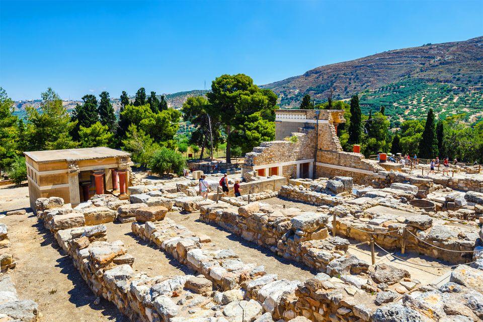 Le site, Knossos, Les monuments, Crète