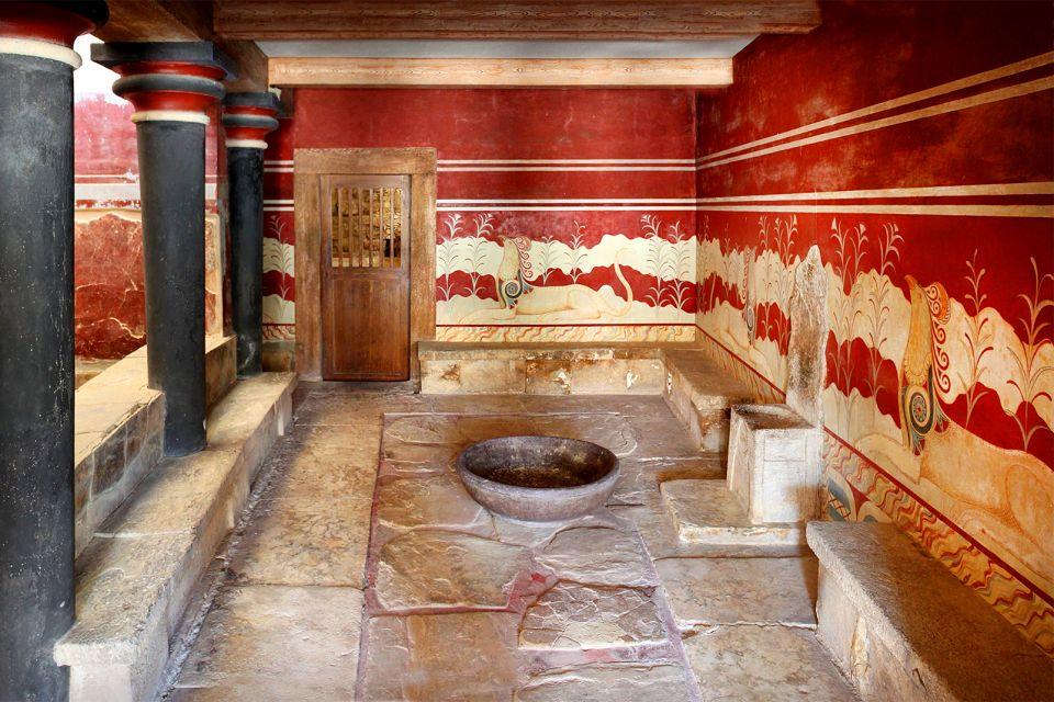 L'apogée des arts, Knossos, Les monuments, Crète