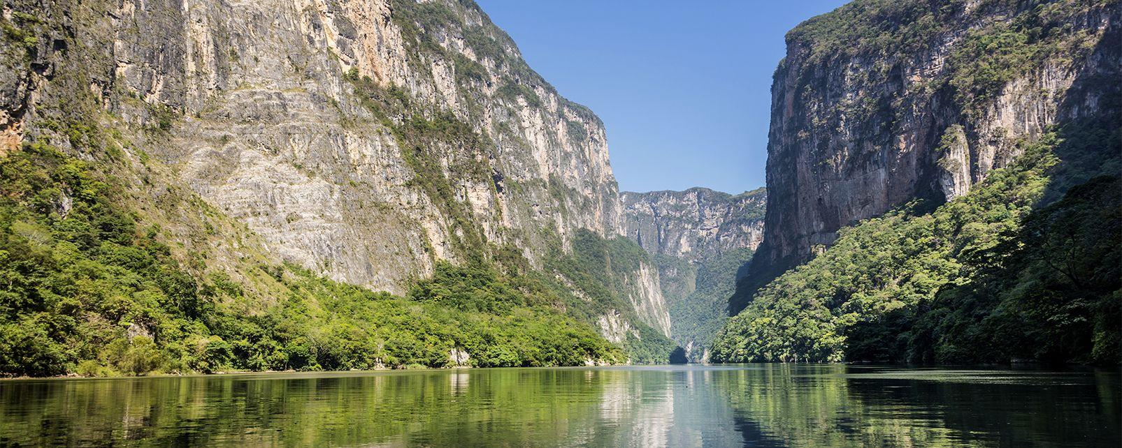Les paysages, méxique amérique canyon sumidero Chiapas