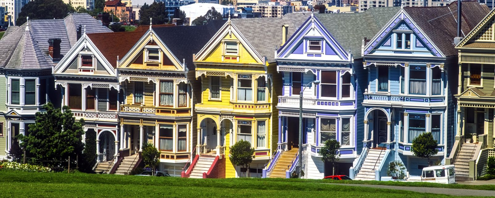 Les maisons victoriennes de san francisco californie for Acheter maison usa californie