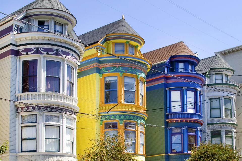 les maisons victoriennes de san francisco californie etats unis. Black Bedroom Furniture Sets. Home Design Ideas