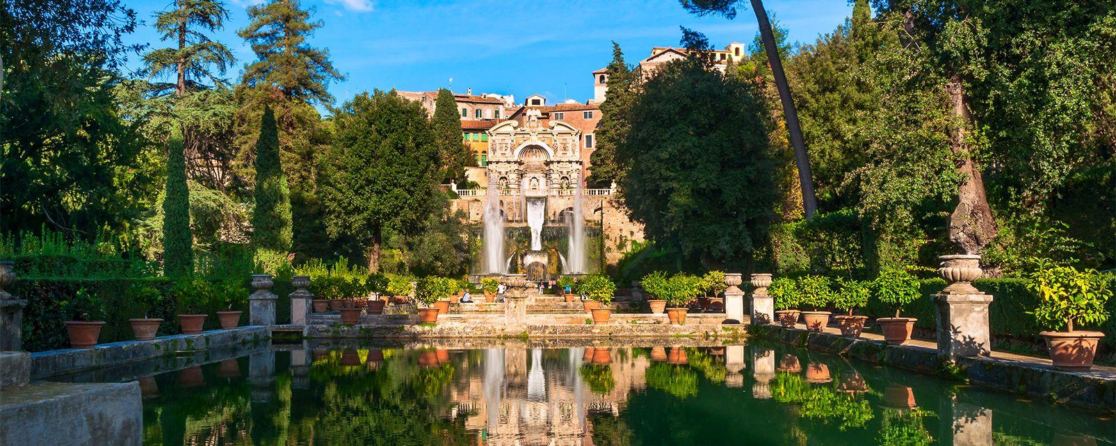 La villa d 39 este de tivoli latium italie for Jardin villa d este
