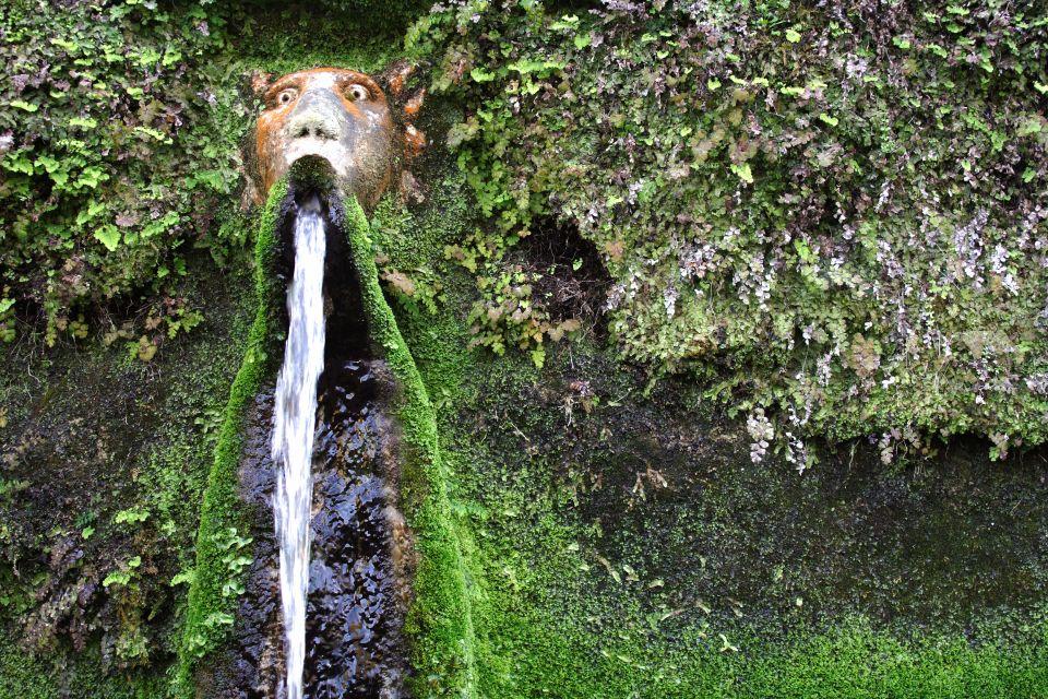 les monuments italie europe villa villa deste latium fontaine eau tivoli jardin unesco - Jardins De Tivoli
