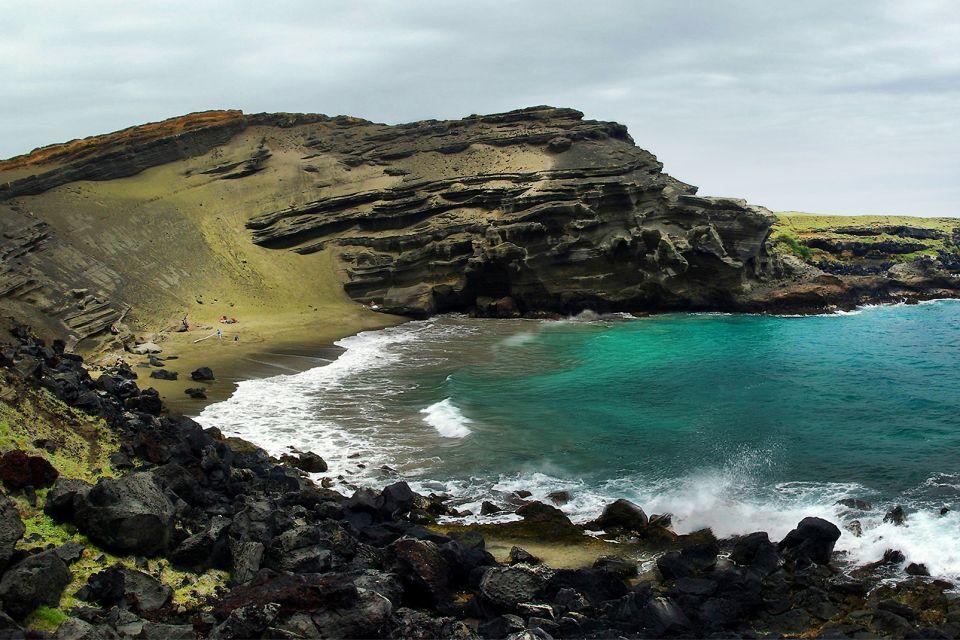 Les îles et les plages, Papakolea