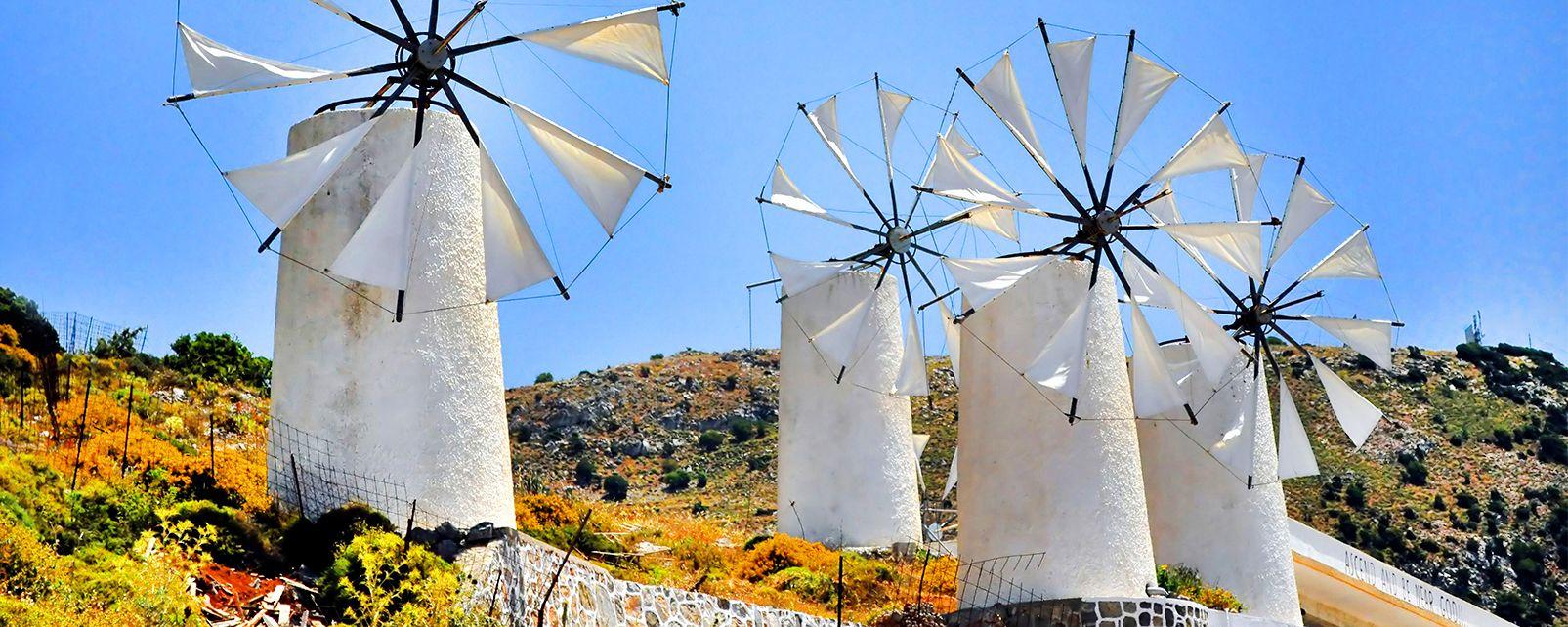 Les sites de la préfecture de Lassithi, Les monuments, Crète